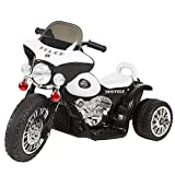 Ride on Toy, 3 Wheel Mini Motorcycle Trike for Kids, Battery Powered Toy for Boys and Girls, 2-3.5 Year Old - Police Car