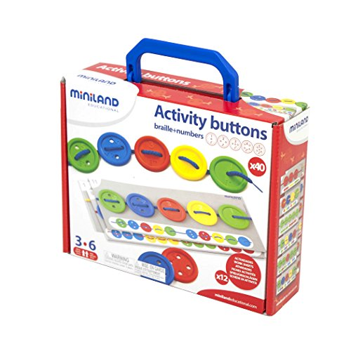 Miniland Activity Buttons with Laces