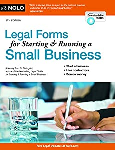 Legal Forms for Starting & Running a Small Business from NOLO