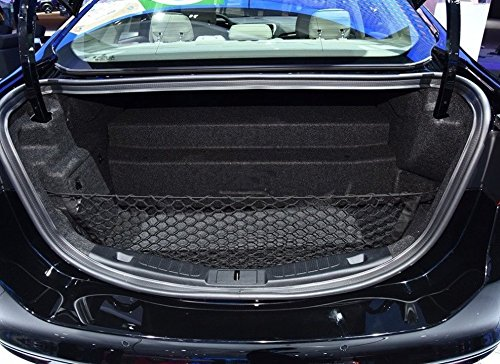 Envelope Style Trunk Cargo Net for Ford Fusion 2013 14 15 2016 2017 2018 (Fusion Trunk)