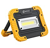 Parts Flix Ultra Bright Spotlight Rechargeable Portable LED Work Light,Outdoor Waterproof Flood Lights (PF-W5112-Y)