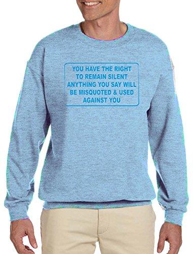say anything shirt light blue - 9