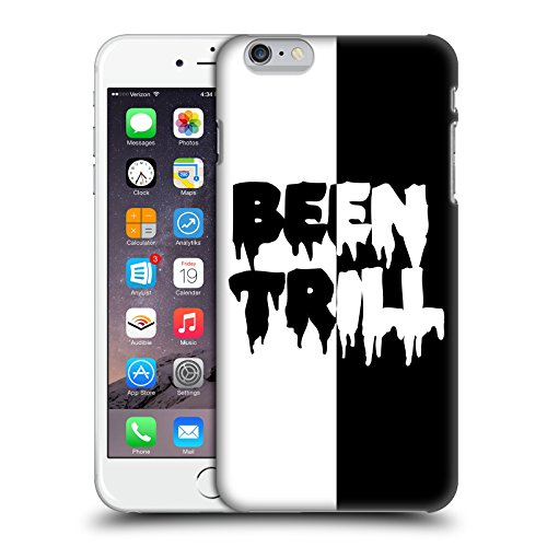 Official Been Trill Two Tone Black And White Hard Back Case for Apple iPhone 6 Plus / 6s Plus