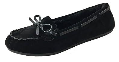 Lamo Women/'s Sabrina Moc II Moccasin Shoes Slip on Comfort Size 6M 7M 10M Navy