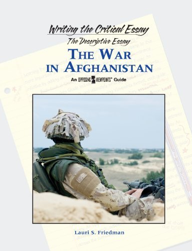 amazoncom the war in afghanistan writing the critical essay  the war in afghanistan writing the critical essay by scherer lauri s