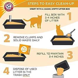 ARM & HAMMER Clump & Seal Platinum Cat Litter, Multi-Cat