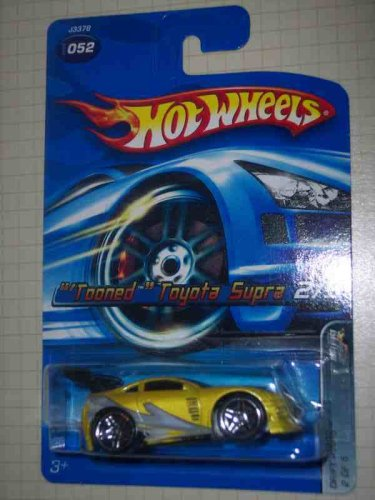 Drift Kings Series #2 ?Tooned? Toyota Supra Large Hood Tampo #2006-52 Collectible Collector Car