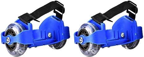 Youth Adjustable Flash Roller Hot Wheels Skating Shoes Easy-on Heel Skates