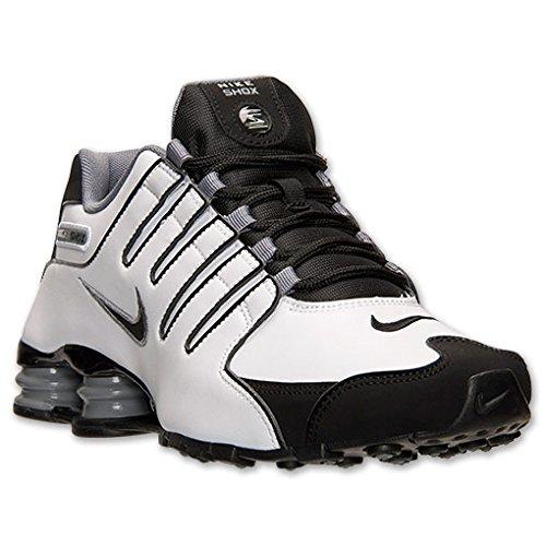 big sale fbd32 2dddd Nike Shox NZ Mens Running Shoes 378341-101 White 9 M US (B00OP2N4DO)    Amazon price tracker   tracking, Amazon price history charts, Amazon price  watches, ...