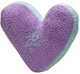 Life is good Unisex Good Dog Squeaky Heart Toy,Purple,One Size
