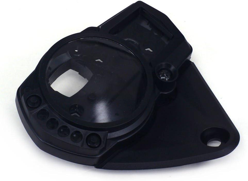 Ysmoto Motorrad Tachometer Tachometer Kilometerzähler Abdeckung Tacho Meter Tacho Messgerät Tasche Für Suzuki Gsxr1000 Gsx1000r Gsxr 1000 K5 2005 2006 05 06 05 06 Street Bike Motorrad Schwarz Auto