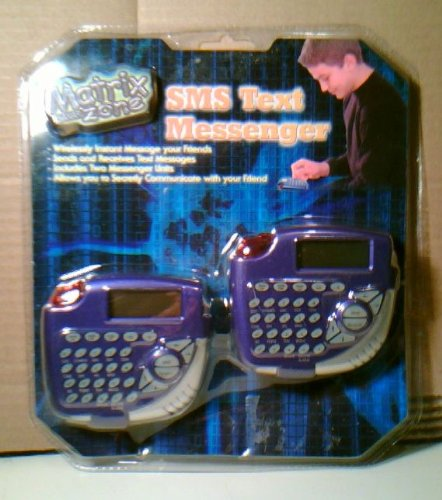 Price comparison product image Matrix Zone SMS Text Messenger 2 Pack