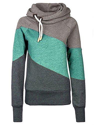 cowl neck womens sweatshirt - 5