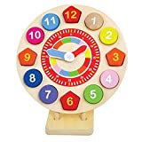Childrens Wooden Toy Clock, Learn to Tell the Time, Teaching Clock by jumini ? by jumini