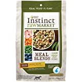 Instinct Freeze Dried Raw Market Meal Blends Grain Free Recipe Natural Dog Food by Nature's Variety