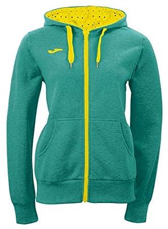 Joma Combi - Sudadera para mujer, color verde/amarillo, talla S