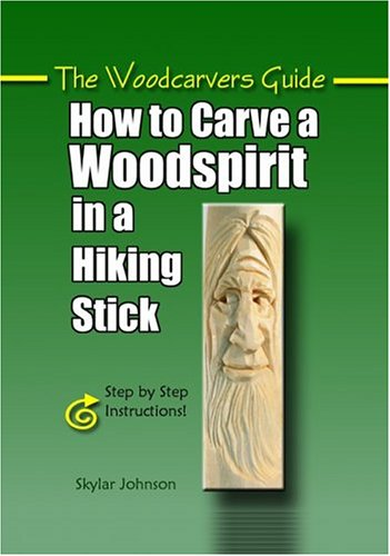 How to Carve a Woodspirit in a Hiking Stick