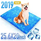 Dog Cooling Mat Pet Cooling Pad for Dog and Cat 23.6x20 Inches Gel