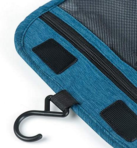 化粧ポーチ アウトドアトラベル大容量ウォッシュバッグ収納バッグセット男性と女性旅行コスメティックバッグ用品 ウォッシュバッグ (色 : グレー, Size : 8X20cm)