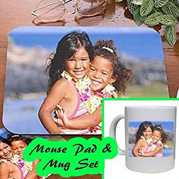 Custom Mouse Pad and Mug Set - Free 2-3 Day Express Shipping