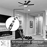 Ceiling Fan Pull Chain, 13.6 Inches Fan Pulls Set