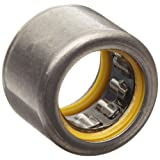 """INA SCE810PP Needle Roller Bearing, Steel Cage, Open End, Double Sealed, Inch, 1/2"""" ID, 11/16"""" OD, 5/8"""" Width, 15000rpm Maximum Rotational Speed"""