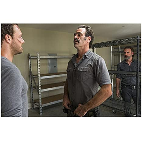 The Walking Dead Ross Marquand, Steven Ogg, and Andrew