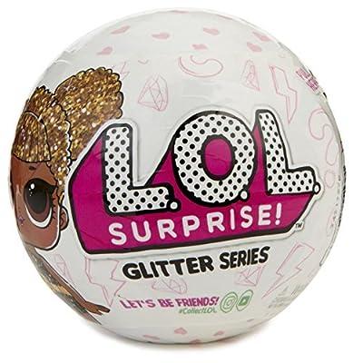 Set Of 5 LOL Surprise Glitter Series , Lol Pets, Lets be Friends, Little sister, Charm Fizz.