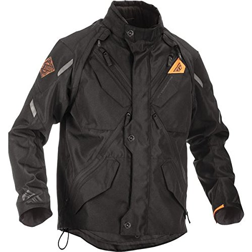 Fly Racing Men's Patrol Jacket (Black, XX-Large)