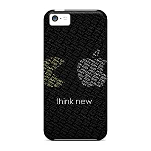 Snap-on Think New Case Cover Skin Compatible With Iphone 5c