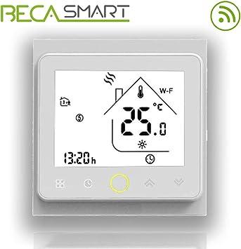 BECA 002 Serie 3 / 16A Pantalla táctil LCD Agua/Calefacción ...