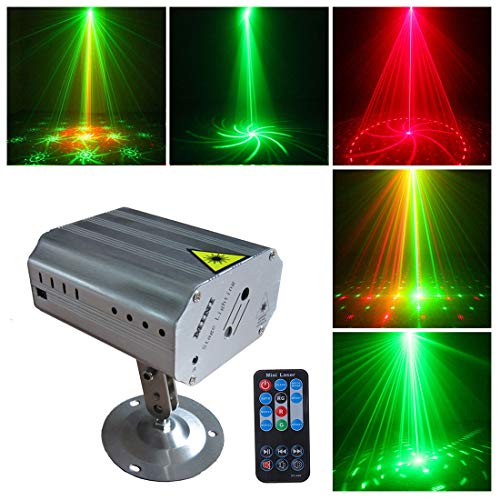 Room Party (Party Lights DJ Disco Stage Lights Sbolight Led Projector Karaoke Strobe Perform for Stage Lighting with Remote Control for Dancing Thanksgiving KTV Bar Birthday Outdoor)