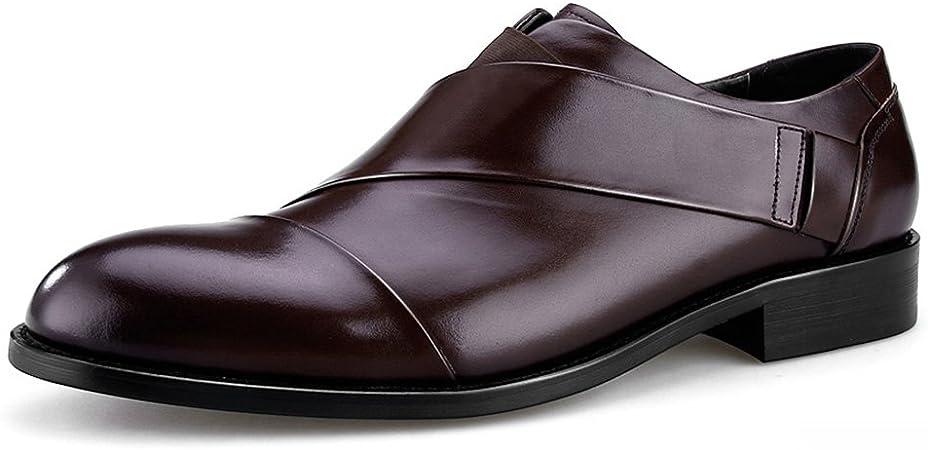 Homme Classique Commercial Leather Chaussures en Cuir pour