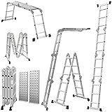 4.7M Scaffold Ladders Multi Function + 2 Free Platforms