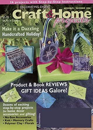 Crafts and home projects magazine