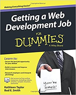 Getting A Web Development Job For Dummies Kathleen Taylor Bud E