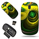 Luxlady Wireless Mouse Travel 2.4G Wireless Mice with USB Receiver, 1000 DPI for notebook, pc, laptop, macdesign IMAGE ID: 23046820 Abstract color background best viewed many details when viewed at fu