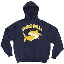 """The Silo NAVY Nashville Smashville """"Catfish"""" Hooded Sweatshirt"""