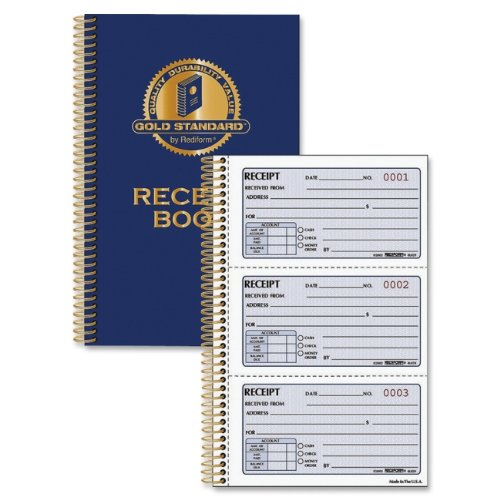 Rediform Money Receipt Book、2 – 3 / 4 x 5、2-partカーボンレス、225セット/ Book 2pc B01MCTEWIL  2pc