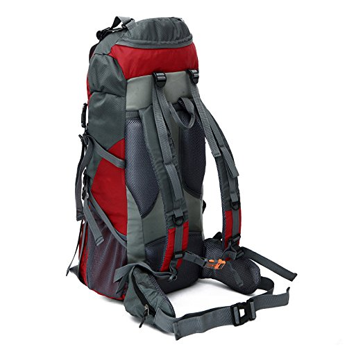 Mountaineering Bag Outdoor Männer und Frauen Schulter Rucksack nylon Wanderpackage große Kapazität Bergsteigen Taschen , blau