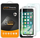 (2-Pack) Supershieldz for Apple iPhone 8 Plus and iPhone 7 Plus (5.5-inch) Tempered Glass Screen Protector with (Easy Installation Tray) Anti-Scratch, Bubble Free