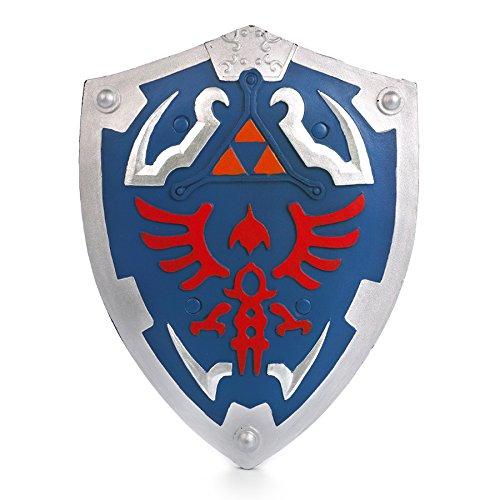 The-Legend-of-Zelda-Schwerter-und-Schild-aus-PU-Schaum