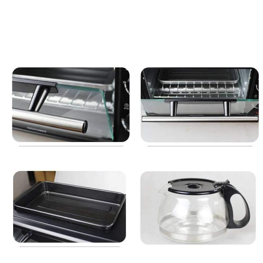 ELECT Nueva Lista multifunción máquina de Desayuno en casa, Horno Tostador Regular, Omelet Tostadas de café Tres en uno,Negro,Triple: Amazon.es: Deportes y ...