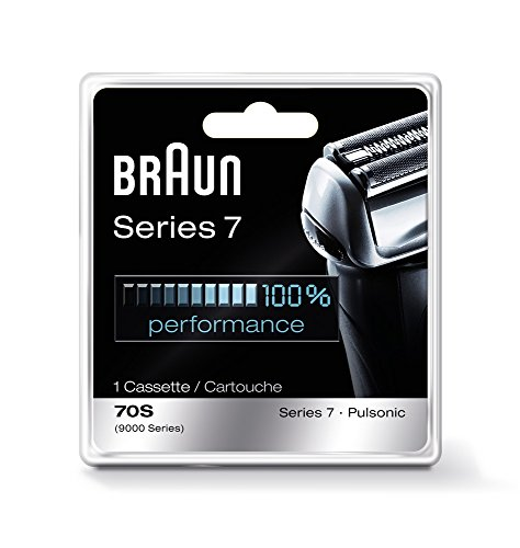Braun Pulsonic Series 7 70S Foil Head Shaver Head Replacement Foil and Blade Cassette, 9000 Series, Razors, Shavers, Cordless Shaving System