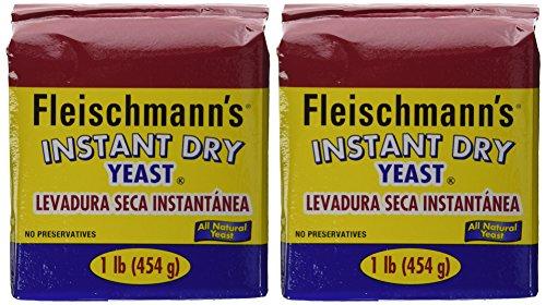 Yeast Dry Bread (Fleischmann's Instant Yeast - 2/16 oz. bags)