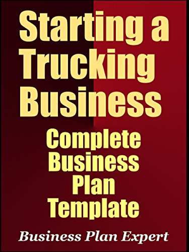 Amazon Starting A Trucking Business Complete Business Plan