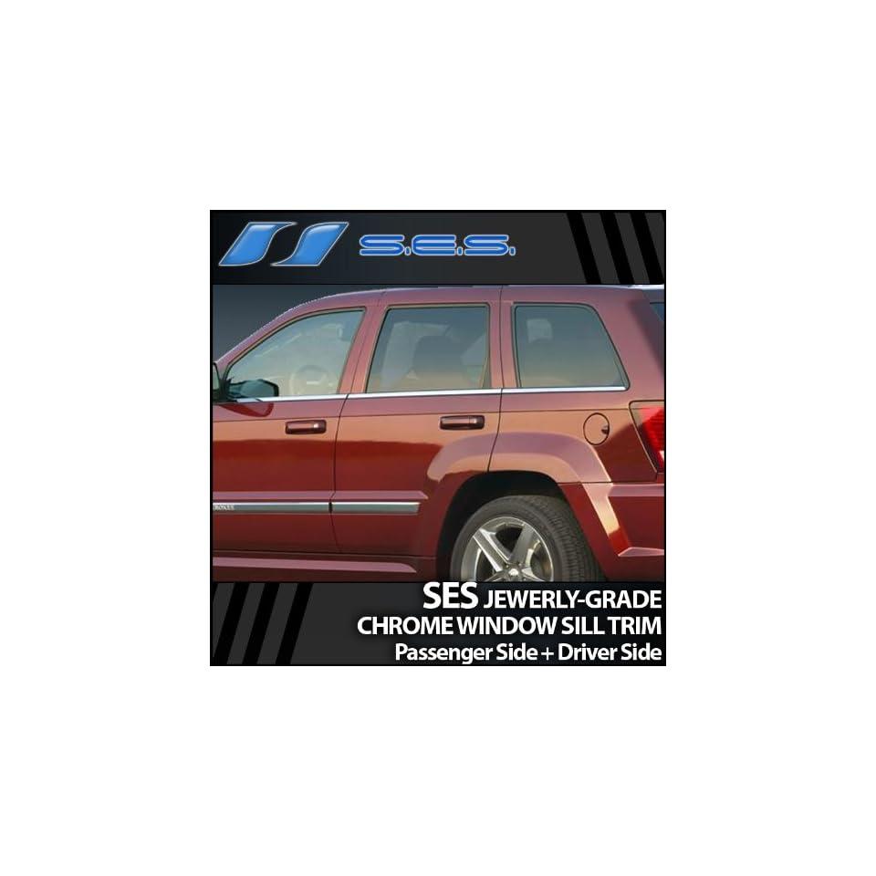 2005 2009 Jeep Grand Cherokee Chrome Window Sill Trim