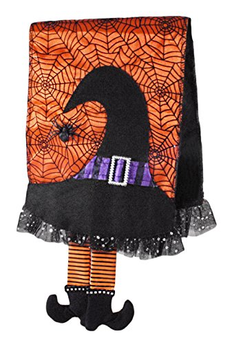 Burton and Burton 9728779 Witch Hat Tea Towel Multicolor ()
