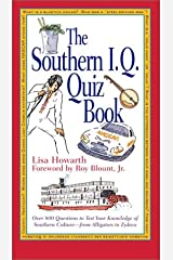 The Southern I. Q. Quiz Book Hardcover