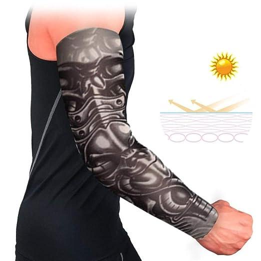 4pcsBandage Protector Solar Manga del Tatuaje Manga de Calma UV ...